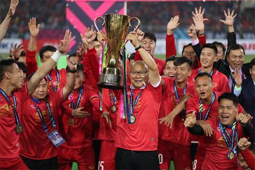 HLV Park Hang-seo được kỳ vọng sẽ giúp Việt Nam lần thứ hai lên đỉnh Đông Nam Á, sau thành công ở AFF Cup 2018